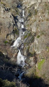 Cascade du valat des Blaquisses, affluent du Rieutord.